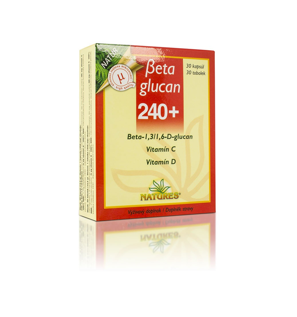 Beta glucan 240+