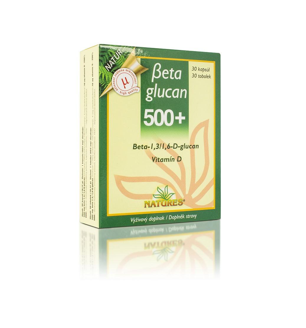 Beta glucan 500+