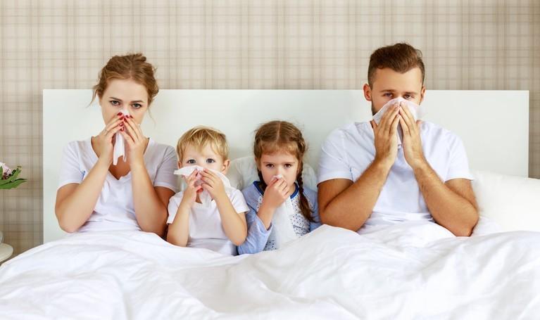 Keď ochorie celá rodina